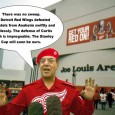 RED WINGS Hats off and teeth out to the Detroit Red Wings and the crowd at Joe Louis Arena for game 7 Of the Stanley Cup Finals. The crowd showed...
