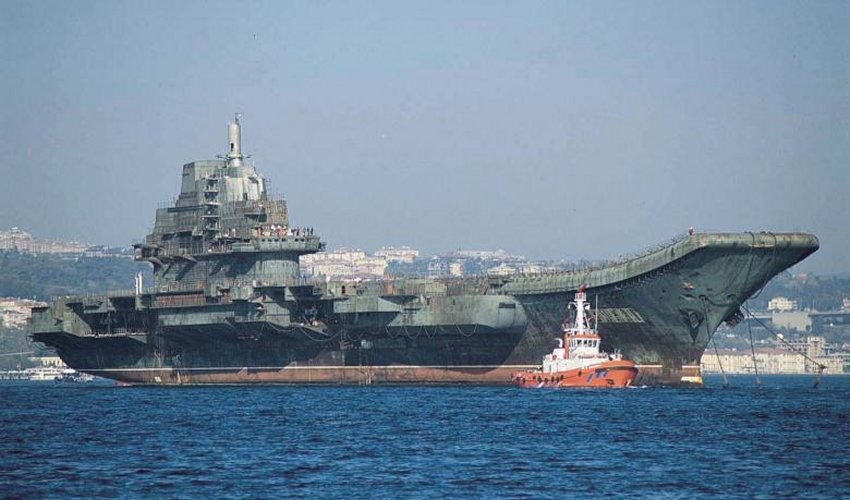 ... , as China prepares its new aircraft carrier fleet for World War III